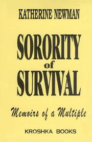 Cover of: Sorority of survival