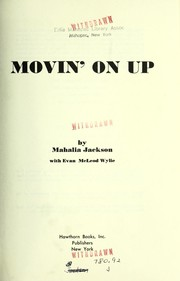 Cover of: Movin' on up