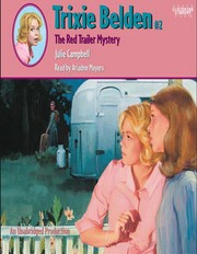 Cover of: Trixie Belden the Red Trailer Mystery (Trixie Belden, No. 2)