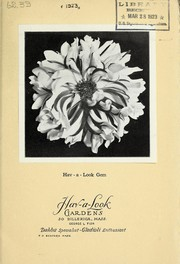 Cover of: [New varieties for 1923] | Hav-a-Look Gardens