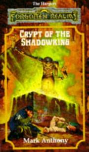 Cover of: Crypt of the shadowking