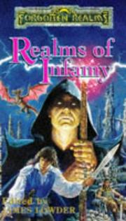 Cover of: Realms of Infamy (Forgotten Realms Anthology) | James Lowder