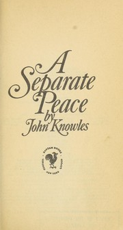 Cover of: A separate peace