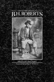 Cover of: The autobiography of B.H. Roberts