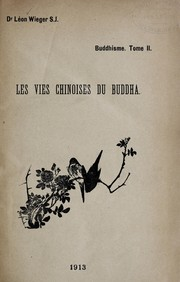 Cover of: Bouddhisme chinois
