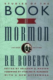 Cover of: Studies of the Book of Mormon