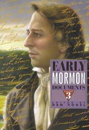 Early Mormon Documents (Volume 3)