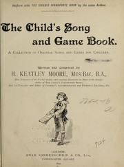The childs song and game book
