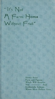 Cover of: Its not a farm home without fruit | Thos. Rogers & Sons