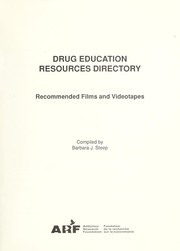 Cover of: Drug education resources directory : recommended films and videotapes |