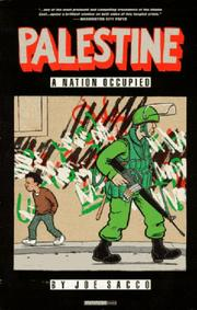 Cover of: Palestine Book 1 | J. Sacco