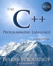 Cover of: The C++ programming language by