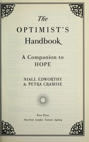 Cover of: The optimist's handbook