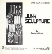 Cover of: Junk sculpture