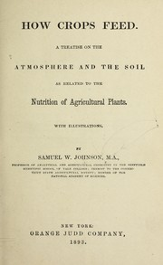 Cover of: How crops feed