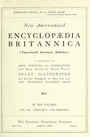 Cover of: New Americanized Encyclopaedia Britannica | Encyclopaedia Britannica, inc
