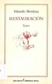 Cover of: Restauracion