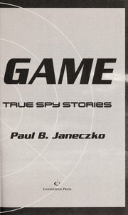 Cover of: The dark game