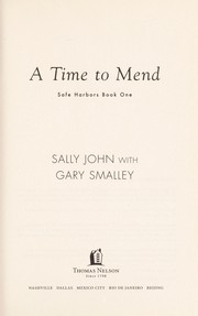 Cover of: A time to mend