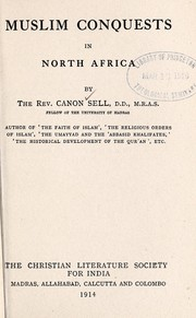 Cover of: Muslim conquests in North Africa