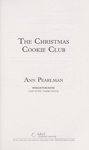 Cover of: The Christmas Cookie Club | Ann Pearlman