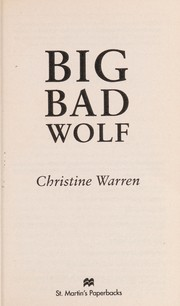 Cover of: Big bad wolf | Christine Warren