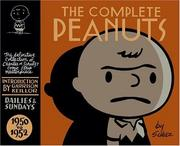 Cover of: The Complete Peanuts 1950-1952
