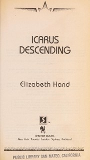 Cover of: Icarus descending
