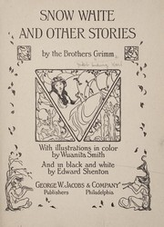 Cover of: Snow White and other stories by the brothers Grimm