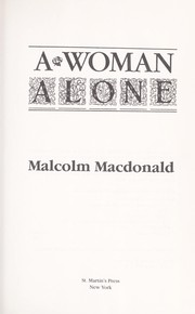Cover of: A woman alone