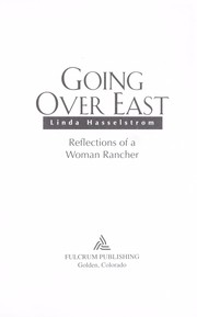 Cover of: Going over east | Linda M. Hasselstrom