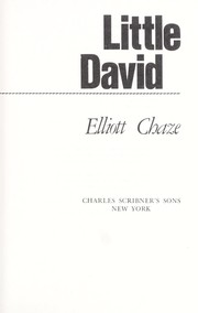 Cover of: Little David