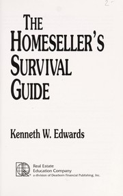 Cover of: The homeseller's survival guide