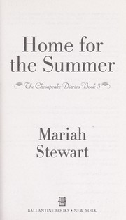 Cover of: Home for the summer