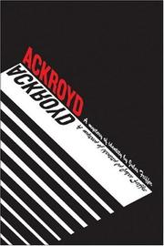 Cover of: Ackroyd