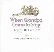 Cover of: When Grandpa came to stay