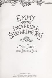 Cover of: Emmy and the incredible shrinking rat