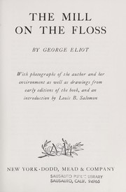 Cover of: The mill on the floss. | George Eliot