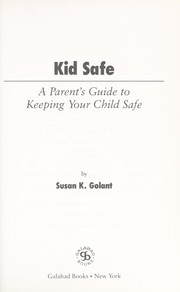Cover of: Kid Safe