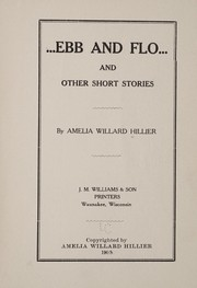 Cover of: Ebb and Flo | Amelia Willard Hillier
