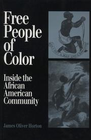 Cover of: FREE PEOPLE OF COLOR