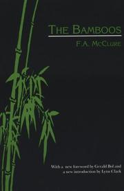 Cover of: bamboos | Floyd Alonzo McClure