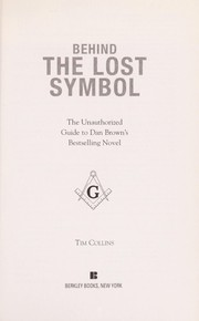 Cover of: Behind The lost symbol