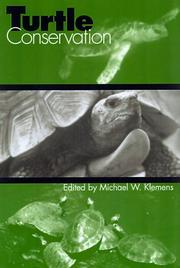 Cover of: TURTLE CONSERVATION