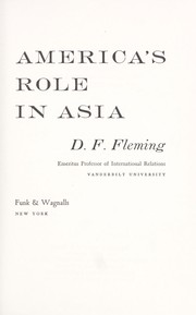 Cover of: America's role in Asia