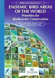 Cover of: ENDEMIC BIRD AREAS OF WORLD