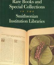 Cover of: RARE BKS & SPECIAL COLLNS