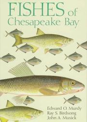 Cover of: Fishes of Chesapeake Bay