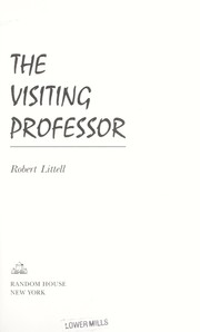 Cover of: The visiting professor