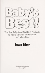 Cover of: Baby's best!
